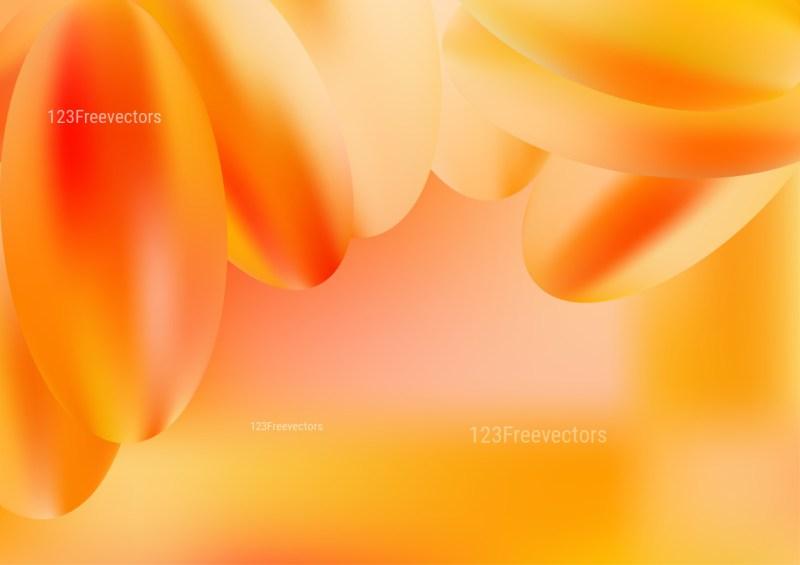 Abstract Shiny Orange Background Graphic