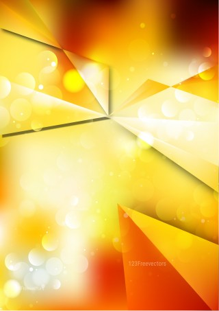 Abstract Shiny Orange and White Background Graphic
