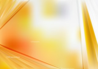 Shiny Abstract Orange and White Background