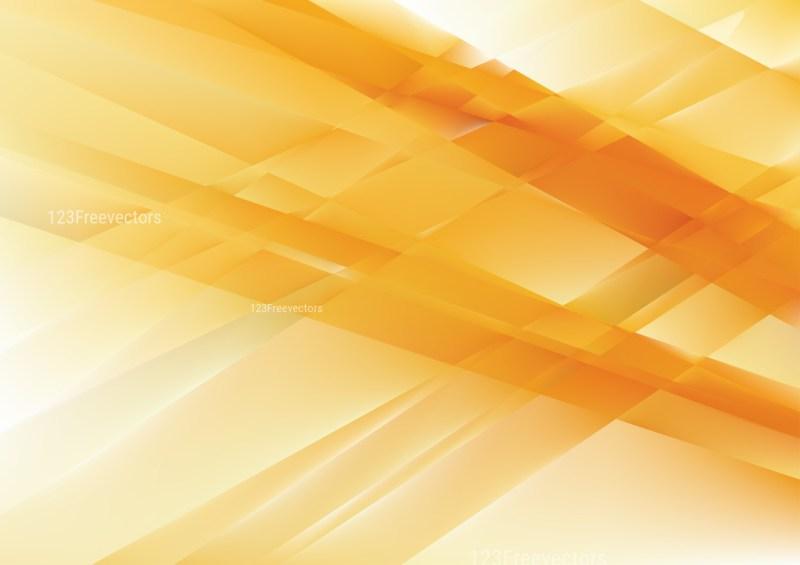 Abstract Shiny Orange and White Background Illustration