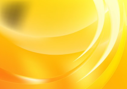 Abstract Shiny Orange and Yellow Background