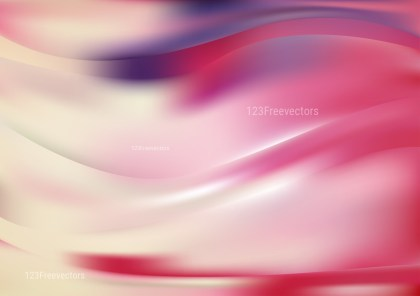 Abstract Shiny Pink and Beige Background Vector