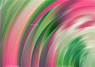 Shiny Abstract Pink and Green Background
