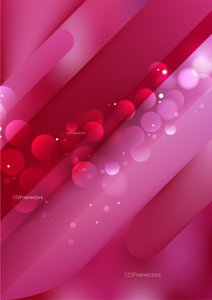 Abstract Pink and Red Background