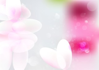 Abstract Shiny Pink and White Background Vector Illustration