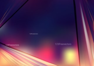 Shiny Abstract Pink Blue and Orange Background