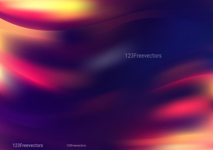 Abstract Shiny Pink Blue and Orange Background