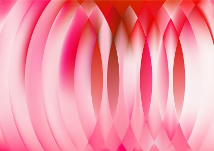 Abstract Pink Red and White Graphic Background