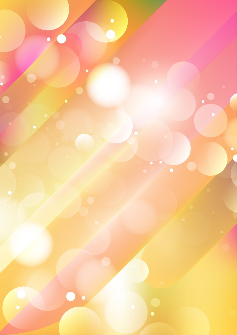 Abstract Shiny Pink Yellow and White Background