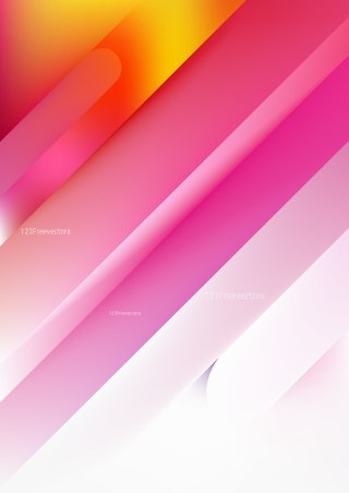 Shiny Abstract Pink Yellow and White Background Image