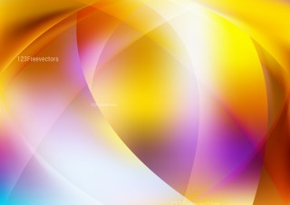 Shiny Abstract Purple Orange and White Background Vector