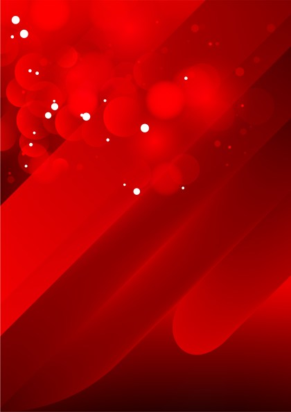 Shiny Abstract Red Background