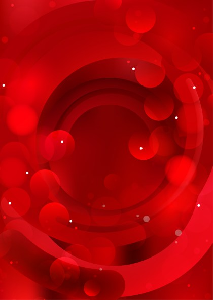 Shiny Abstract Red Background Design
