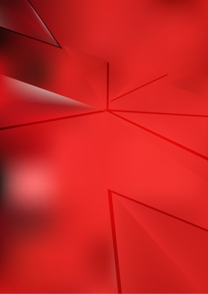 Shiny Abstract Red Background Vector Art