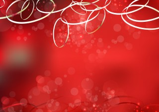 Abstract Shiny Red Background