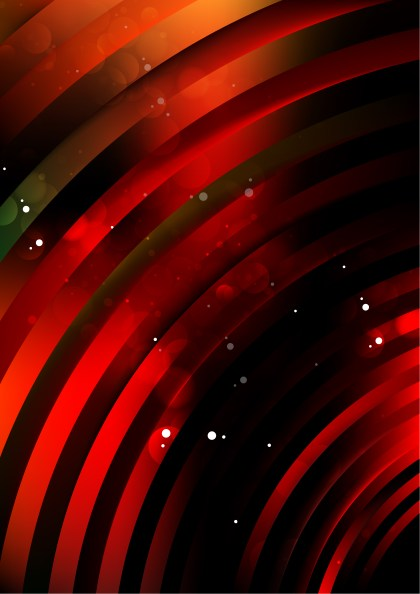 Shiny Abstract Red and Black Background Illustrator