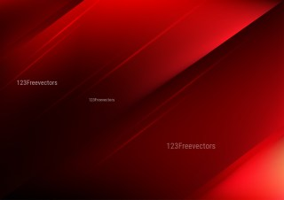 Abstract Shiny Red and Black Background Vector