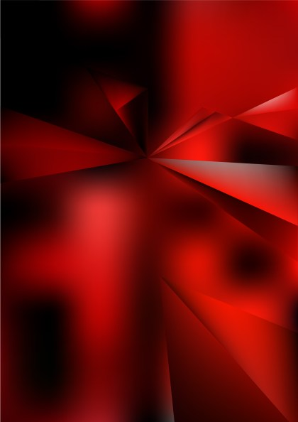 Abstract Shiny Red and Black Background Graphic