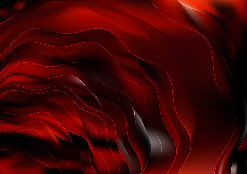 Abstract Red and Black Graphic Background
