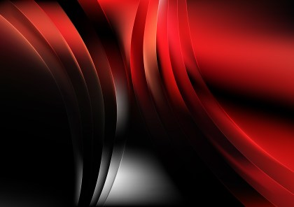 Abstract Red and Black Background Graphic