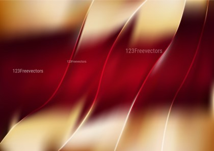 Shiny Abstract Red and Brown Background