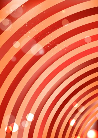 Abstract Red and Orange Background Vector Illustration