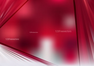 Abstract Red and White Background Design