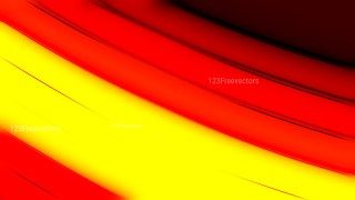 Abstract Red and Yellow Background Design