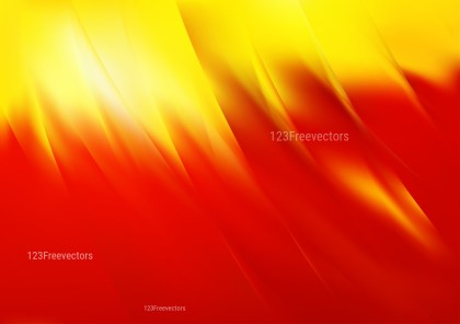 Abstract Red and Yellow Background Vector Art