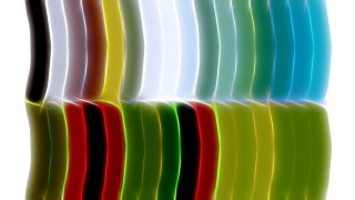 Abstract Red Green and Blue Graphic Background