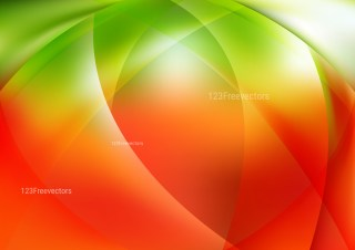 Abstract Red Green and White Background Illustrator