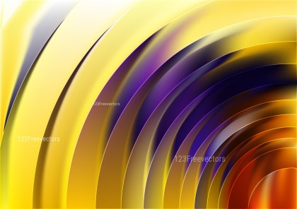 Abstract Red Yellow and Blue Graphic Background