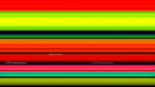 Red Yellow and Green Abstract Stripes Background