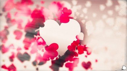 Blurred Pink and Brown Valentines Background