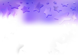 Purple and White Star Background