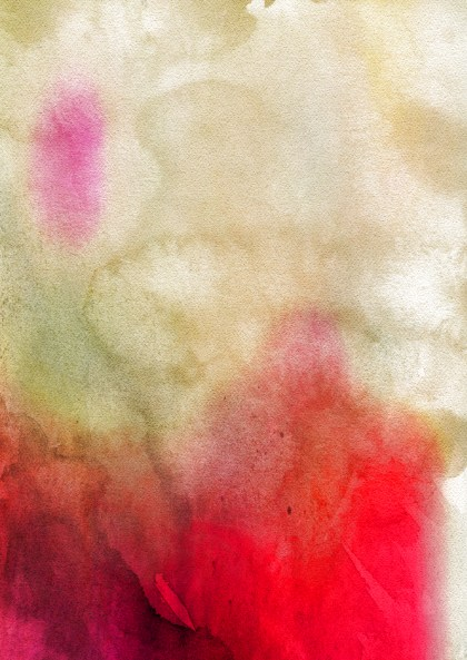 Beige and Red Watercolor Texture Image