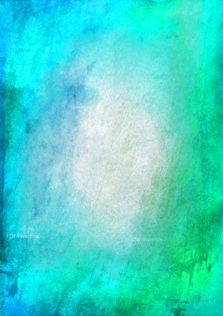 Beige and Turquoise Watercolor Texture Image