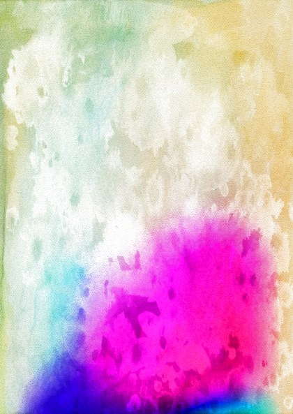 Beige Blue and Pink Watercolor Background Texture Image