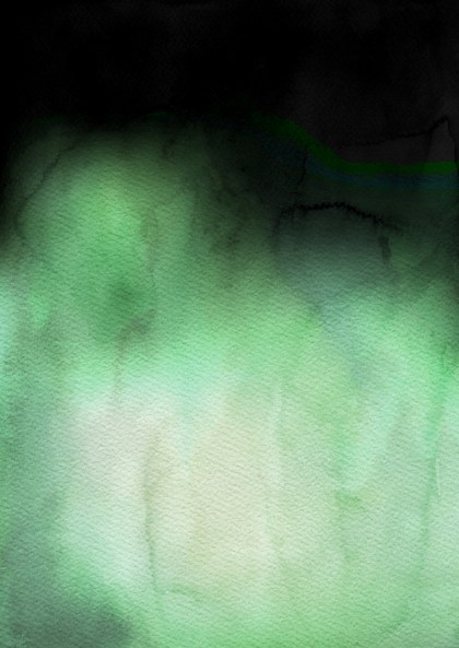 Beige Green and Black Grunge Watercolor Background Image