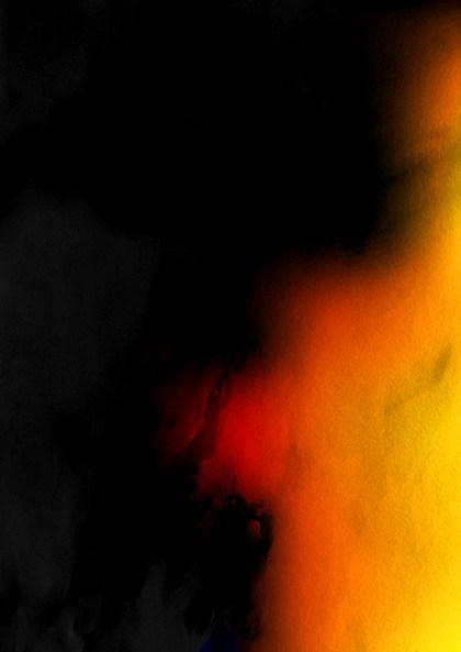 Black Red and Yellow Grunge Watercolour Texture