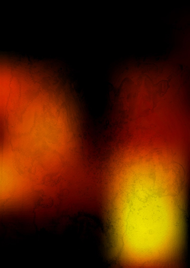 Black Red and Yellow Grunge Watercolor Texture Background