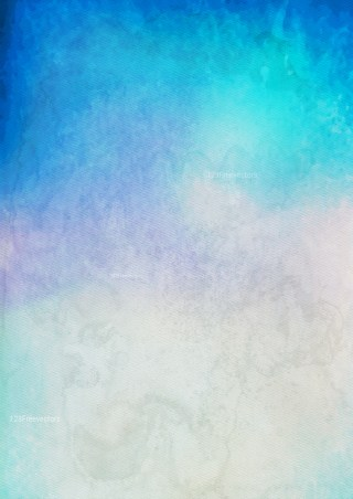 Blue and Beige Watercolor Background Texture Image