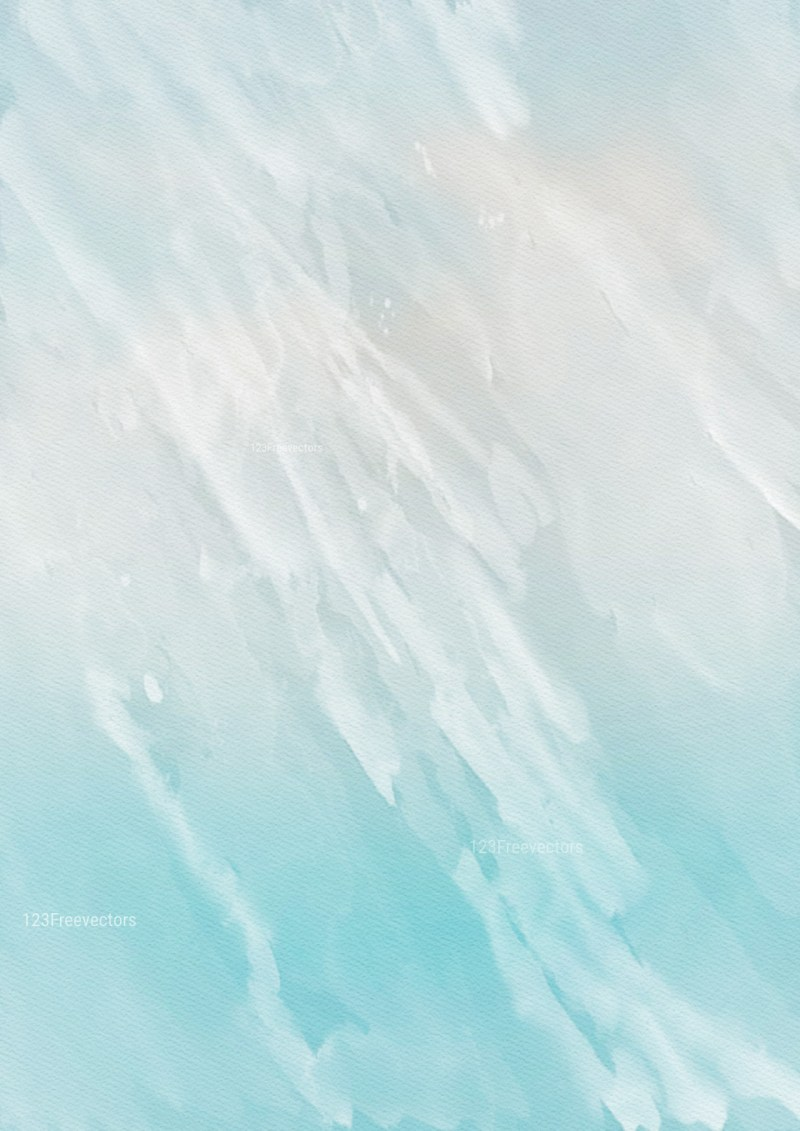 Blue and Grey Watercolor Background