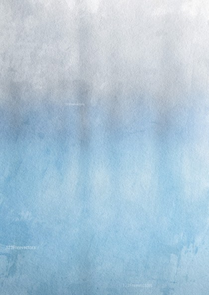 Blue and Grey Water Color Background