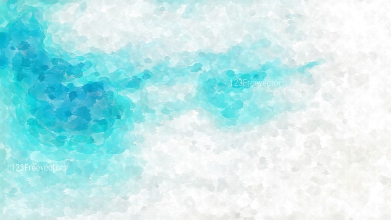 Blue and White Watercolor Texture Image