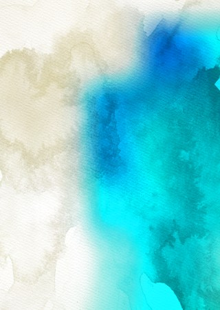 Blue and White Watercolor Texture