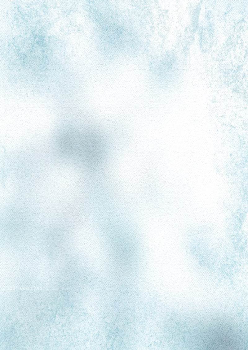 Blue and White Watercolor Background Texture Image