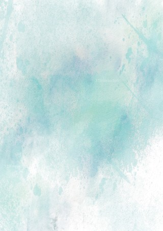 Blue and White Grunge Watercolor Texture Image