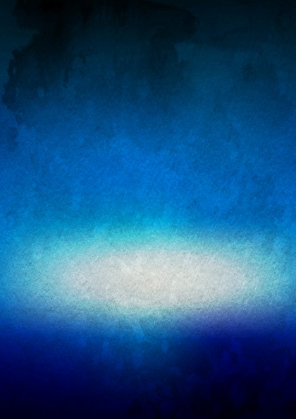 Blue Black and White Aquarelle Background