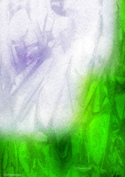 Blue Green and White Grunge Watercolor Background